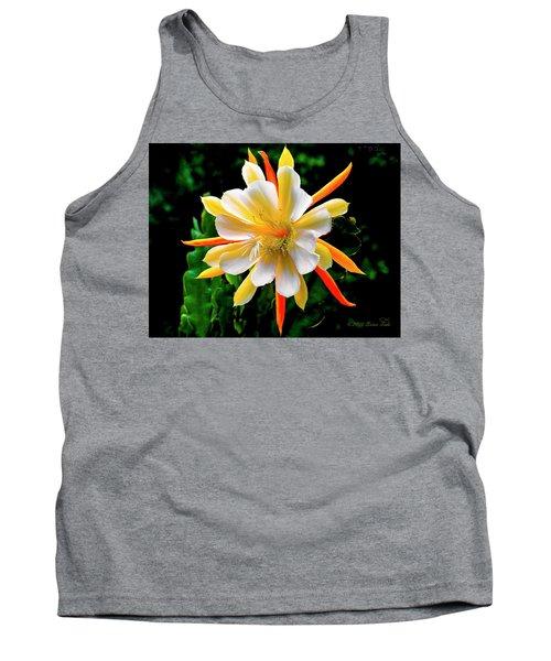 Orchid Cactus Epiphyllum Tank Top