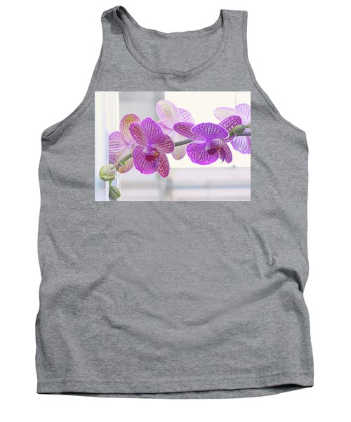 Orchid Spray Tank Top