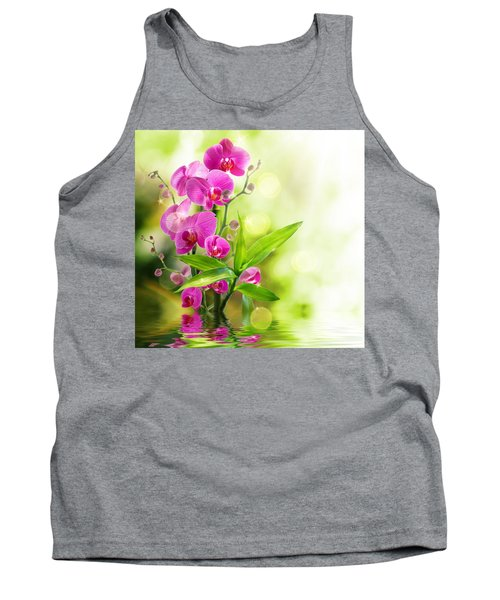 Orchidaceae Tank Top