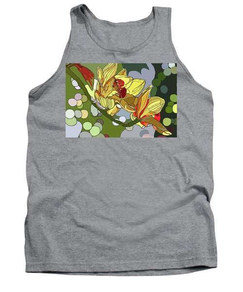 Orchids In Sunlight Tank Top
