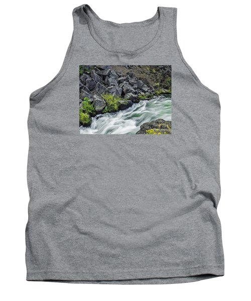 Oregon's Dillon Falls Tank Top by Nancy Marie Ricketts