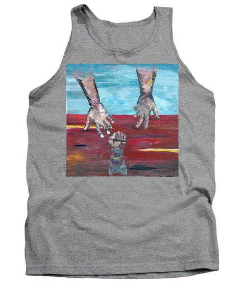 Our Sense Of Peace Is Only As Secure As Our Grasp Of Grace Tank Top
