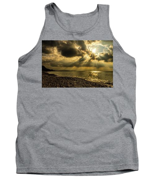 Tank Top featuring the photograph Our Star by Nick Bywater