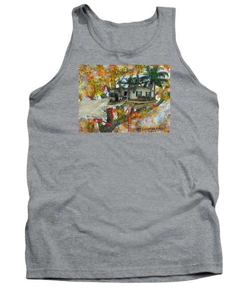 Our Tree House Tank Top by Jim Hubbard