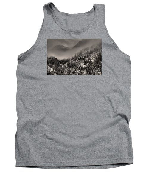 Ouray In Chinese Brush IIi Tank Top by William Fields