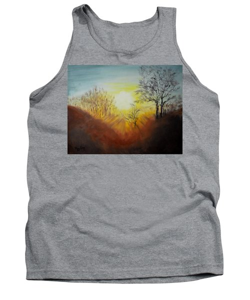 Out Of The Winter Morning Mists - 1 Tank Top