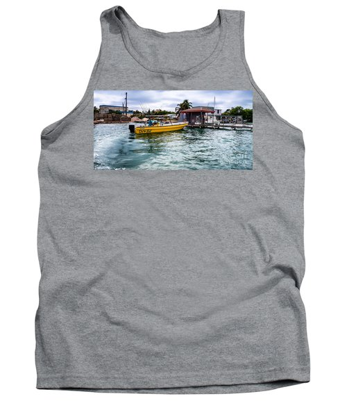 Out On Bail Tank Top by Lawrence Burry