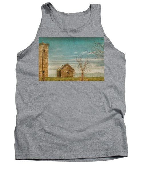 Out On The Farm Tank Top by Pamela Williams
