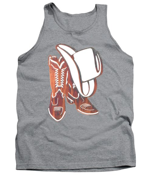 Out West  Tank Top by Herb Strobino