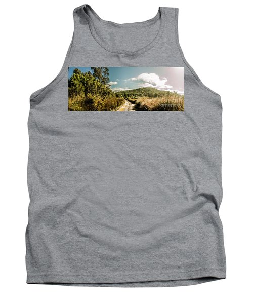 Outback Country Road Panorama Tank Top