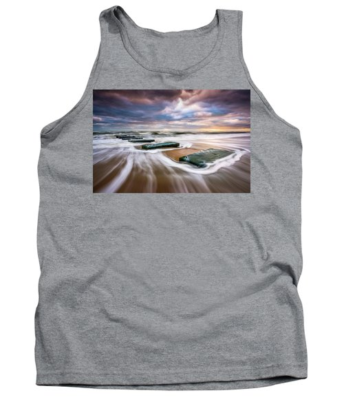 Outer Banks North Carolina Beach Sunrise Seascape Photography Obx Nags Head Nc Tank Top
