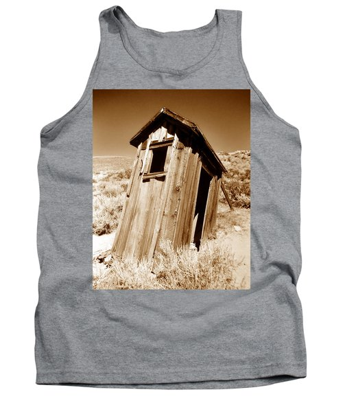 Outhouse At Bodie Tank Top