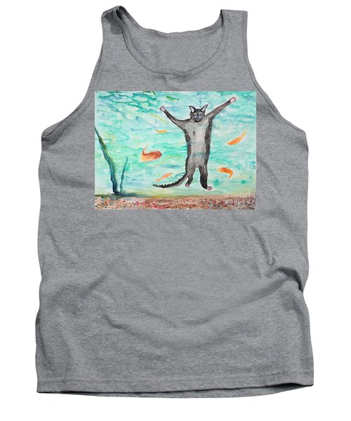 Outside The Fish Tank Tank Top