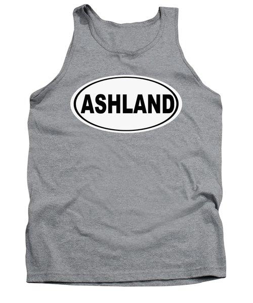 Oval Ashland Oregon Or Ohio Home Pride Tank Top
