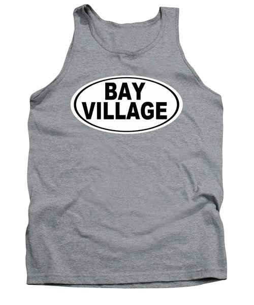 Tank Top featuring the photograph Oval Bay Village Ohio Home Pride by Keith Webber Jr