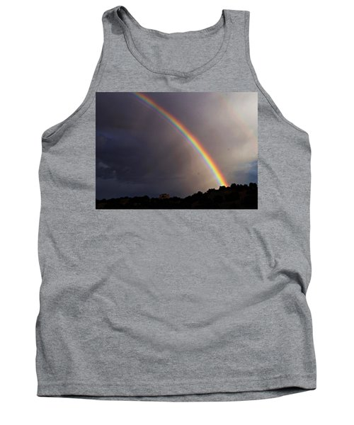 Tank Top featuring the photograph Over The Rainbow by Joseph Frank Baraba