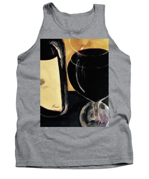 Tank Top featuring the painting Over The Top by Lisa Kaiser