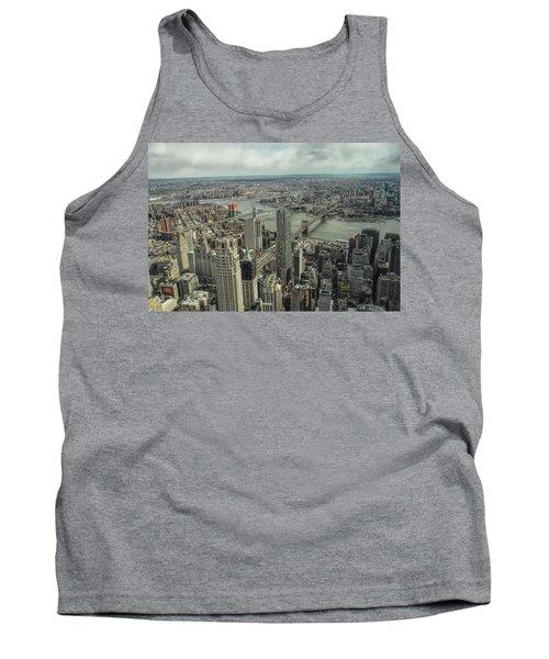 Overlooking Manhattan's East River  Tank Top