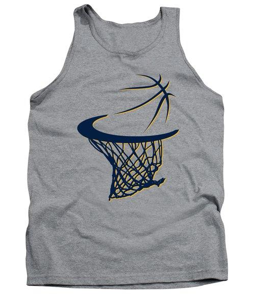 Pacers Basketball Hoop Tank Top