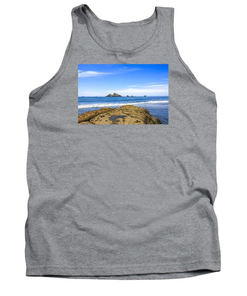 Pacific North West Coast Tank Top by Chris Smith