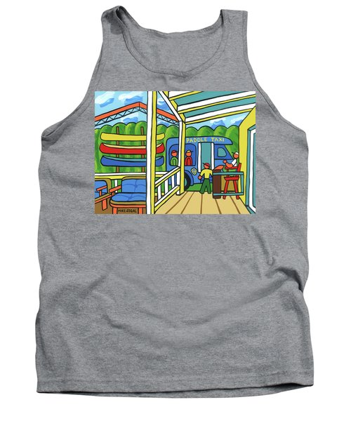 Paddle Taxi - Rum 138 Tank Top