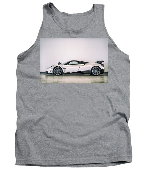Tank Top featuring the photograph #pagani #huayra Bc by ItzKirb Photography
