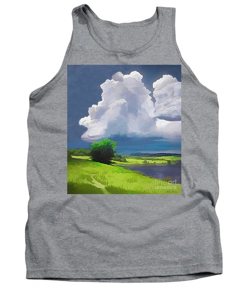 Painted Clouds Tank Top