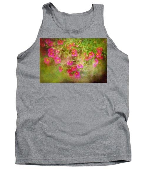 Painted Flowers Tank Top