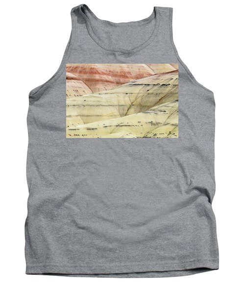 Tank Top featuring the photograph Painted Hills Ridge by Greg Nyquist