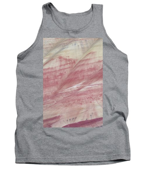 Painted Hills Textures 1 Tank Top by Leland D Howard