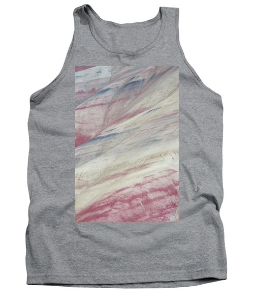 Painted Hills Textures 3 Tank Top by Leland D Howard