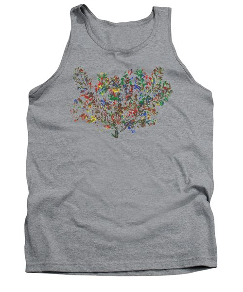 Tank Top featuring the painting Painted Nature 2 by Sami Tiainen