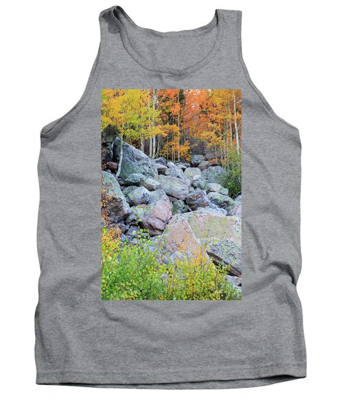 Tank Top featuring the photograph Painted Rocks by David Chandler