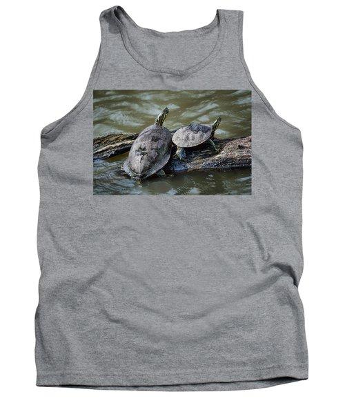Painted Turtle Pair Tank Top