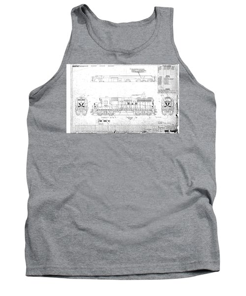 Painting And Lettering Diagramgp30 Tank Top