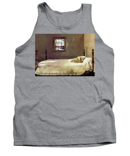 Painting Of The Print, Master Bedroom Tank Top