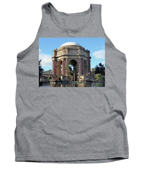 Tank Top featuring the photograph Palace Of Fine Arts by Steven Spak