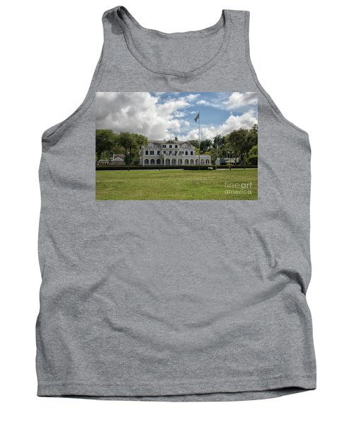 Palace Of President In Paramaribo Tank Top by Patricia Hofmeester