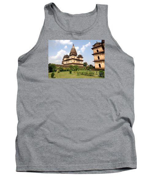 Palaces In Orccha Central India Tank Top