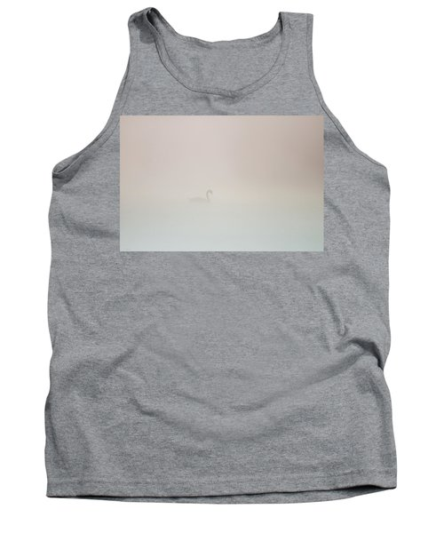 Pale Outline In The Fog Tank Top