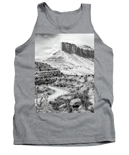 Tank Top featuring the photograph Palisade Island Mesa by Dutch Bieber