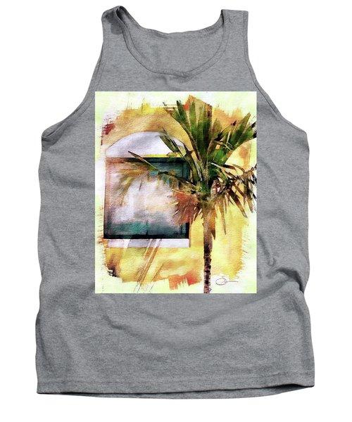 Palm And Window Tank Top