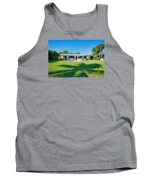 Palm Back Yard Tank Top