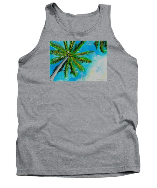 Palm In The Sky Tank Top