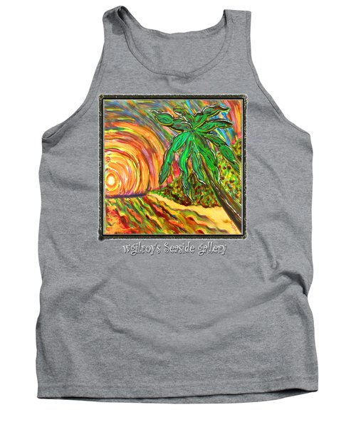 Palm Sunrise Sunset Tank Top