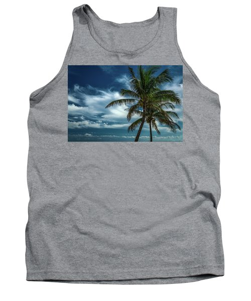 Palm Tree Against The Sky Tank Top