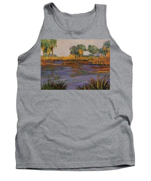 Palm Tree Hideaway  Tank Top