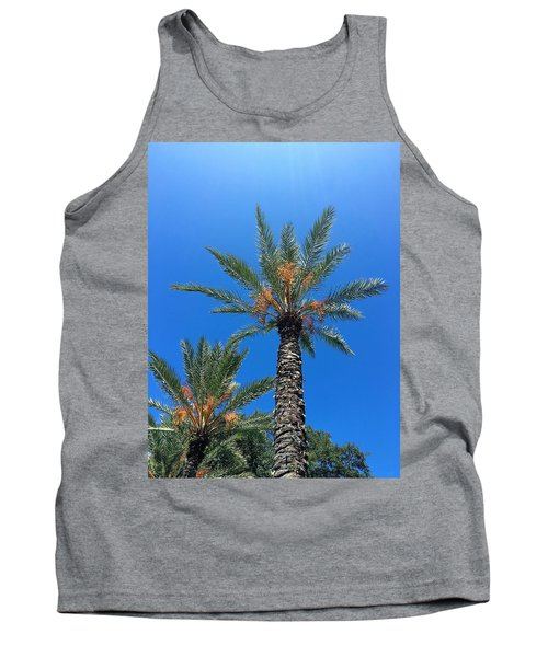 Palm Trees Tank Top by Kay Gilley