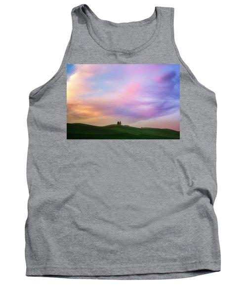 Palouse Cirrus Rainbow Tank Top