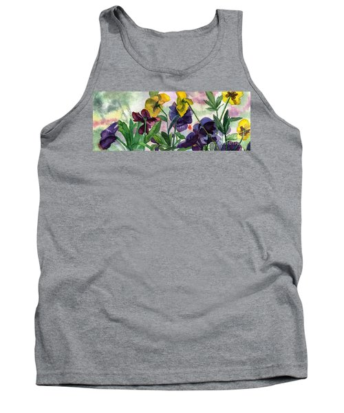 Pansy Field Tank Top